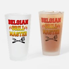 Belgian Grill Master Apron Drinking Glass