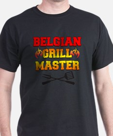 Belgian Grill Master Apron T-Shirt