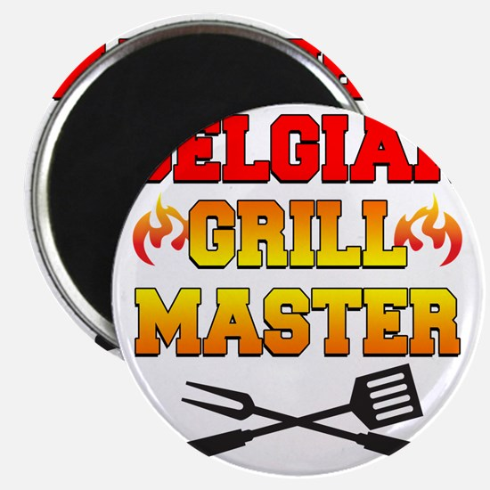 Belgian Grill Master Apron Magnet