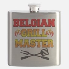 Belgian Grill Master Apron Flask