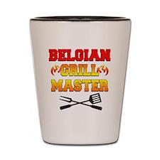 Belgian Grill Master Apron Shot Glass