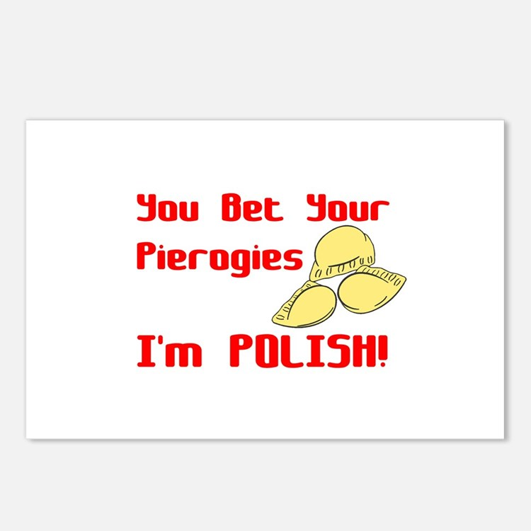 You Bet Your Pierogies I'm Polish Postcards (Packa