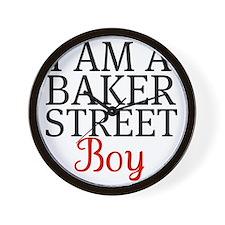 I Am A Baker Street Boy Wall Clock
