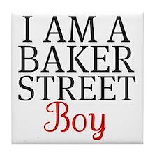 I Am A Baker Street Boy Tile Coaster