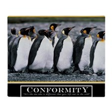 Large Conformity Poster HIMYM Throw Blanket