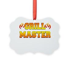 Grill Master Dark Apron Ornament