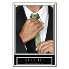 Large Vertical Suit Up Poster HIMYM Banner