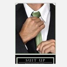 Large Vertical Suit Up Po Postcards (Package of 8)