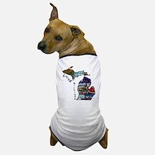 Love Michigan Dog T-Shirt
