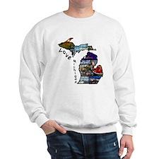 Love Michigan Sweatshirt