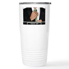 Large Horizontal Suit Up Poster Travel Mug