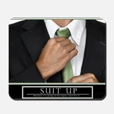 Large Horizontal Suit Up Poster HIMYM Mousepad