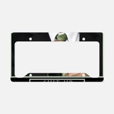 Large Horizontal Suit Up Post License Plate Holder