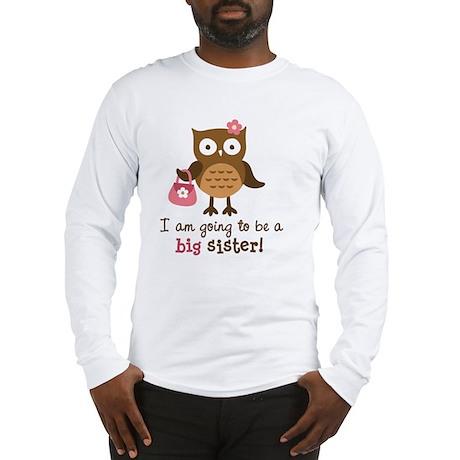 Future big sister - Mod Owl Long Sleeve T-Shirt