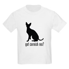Cornish Rex Kids T-Shirt