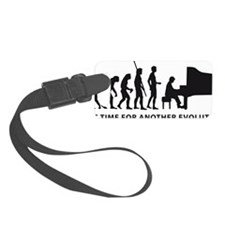 evolution piano Luggage Tag