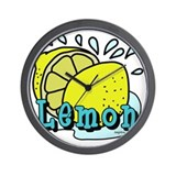 Lemon Wall Clocks