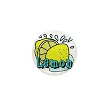 Lemon Mini Button