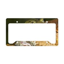 A Couch's spadefoot toad Scap License Plate Holder