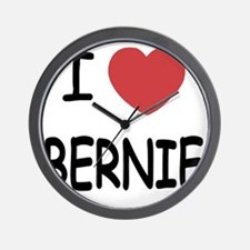 I heart BERNIE Wall Clock