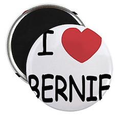 I heart BERNIE Magnet