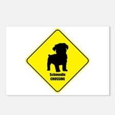 Schnoodle Crossing Postcards (Package of 8)