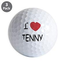 I heart JENNY Golf Ball