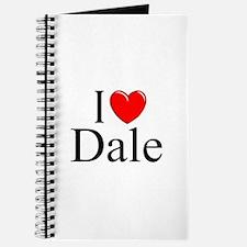 """I Love (Heart) Dale"" Journal"