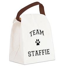 Team Staffie Canvas Lunch Bag