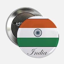 India - Flag Button