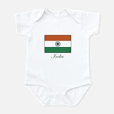 India - Flag Infant Bodysuit