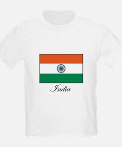 India - Flag Kids T-Shirt