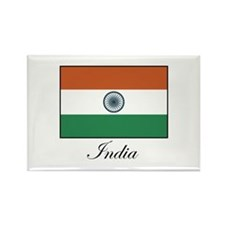 India - Flag Rectangle Magnet
