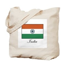 India - Flag Tote Bag