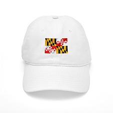 Flag of Maryland Baseball Cap