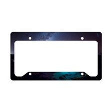 Milky Way over Southern Ocean License Plate Holder