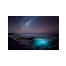 Milky Way over Southern Ocean Rectangle Magnet