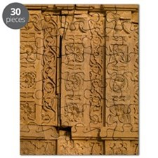 Wall detail, Abandoned city of Fatehpur, Ra Puzzle