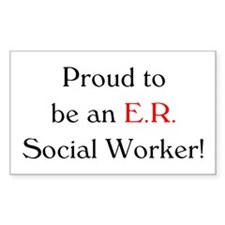 Proud ER SW Rectangle Decal