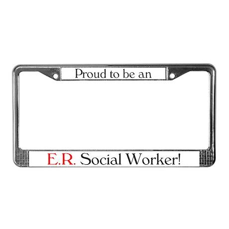 Proud ER SW License Plate Frame