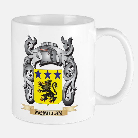 Mcmillan Coat of Arms - Family Crest Mugs