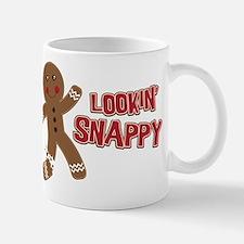 Gingerbread Man Snappy Mug