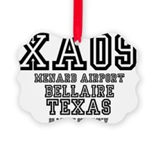 TEXAS - AIRPORT CODES - XA09 - ME Ornament