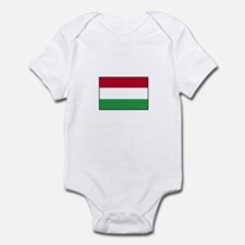 Hungarian Flag - Hungary Infant Bodysuit