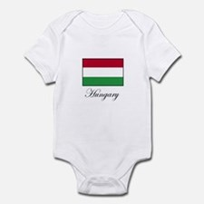 Hungary - Hungarian Flag Infant Bodysuit