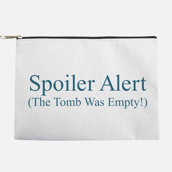 Spoiler Alert - Tomb Empty Makeup Pouch