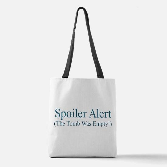 Spoiler Alert - Tomb Empty Polyester Tote Bag