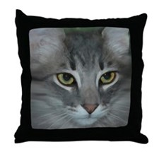 Unique Paintings of cats Throw Pillow