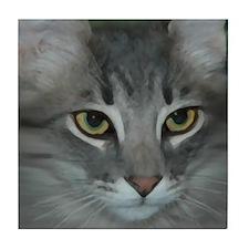 Cute Maine kittens Tile Coaster