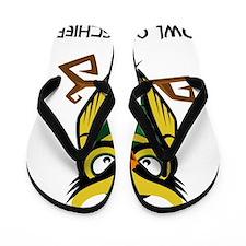 Owl of Mischief Flip Flops